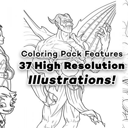 jazza coloring pages Jazza's Coloring eBook! | Jazza Studios jazza coloring pages